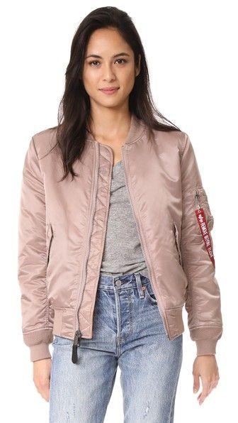 ALPHA INDUSTRIES Ma-1 Reversible Bomber Jacket. #alphaindustries #cloth #dress #top #shirt #sweater #skirt #beachwear #activewear