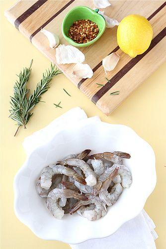 Roasted Shrimp with Rosemary, Garlic & Lemon | Recipe