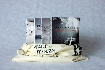 """Zestaw """"Michael Crummey"""" - 4 książki w torbie"""