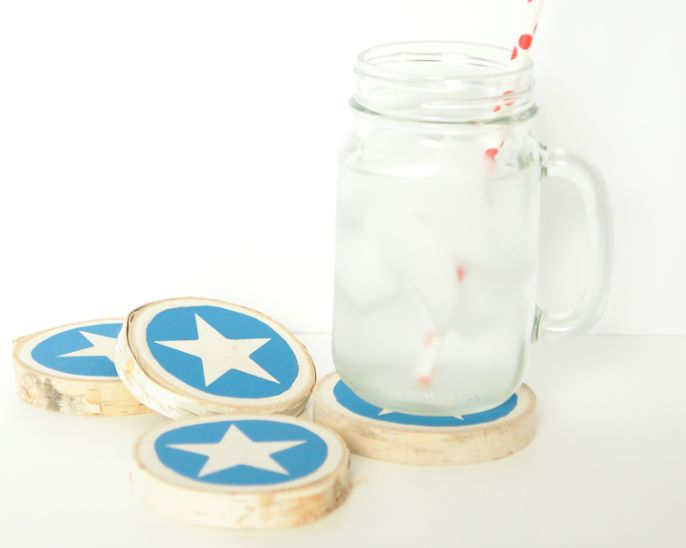 Create Wooden Coasters For Easy Craft Ideas