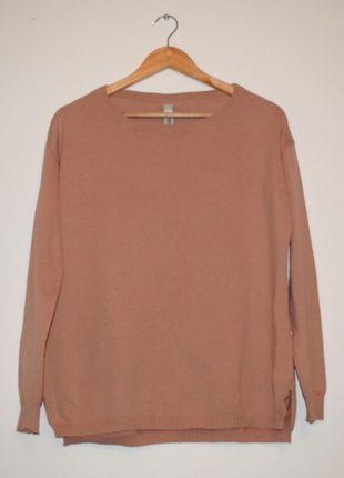 Kup mój przedmiot na #vintedpl http://www.vinted.pl/damska-odziez/swetry-z-dzianiny/8395932-pullbear-sweter-brudny-roz-oversize-rozm-m