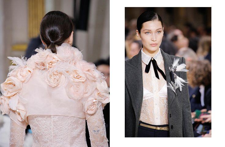Время «крутить хвосты» — подиумные примеры самой модной прически сезона