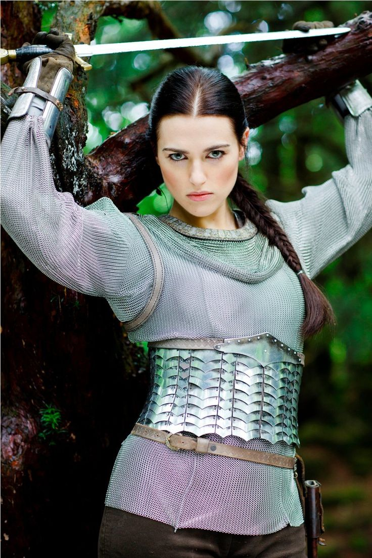 Lady Morgana dressed for fight - BBC Merlin | costume ...