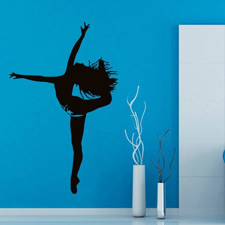 Dancing Inspirational Vinyl Sticker Wall Art