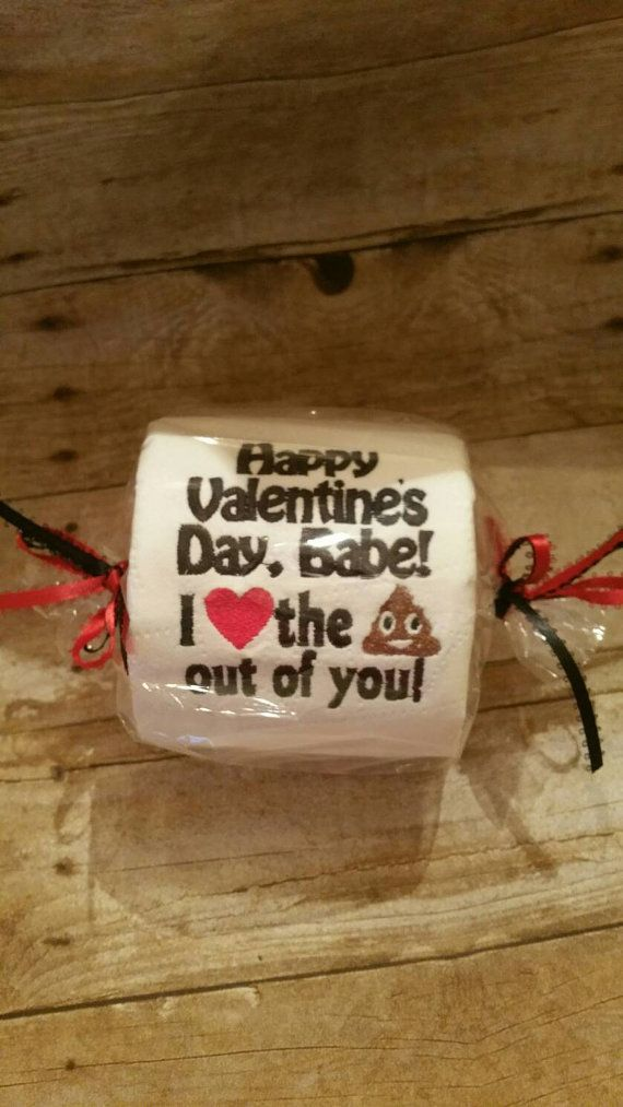 This embroidered toilet paper makes a special gift that is perfect for your Valentine. Paper comes embroidered with Happy Valentines Day (name), I (heart) the Shit out of You! This gift makes a hilarious surprise when you hang it on your toilet paper roll on Valentines Day! As always, when ordering with Tootsies Girls, you will receive your gift fast and in perfect condition! Please feel free to check out our five star reviews! Orders are shipped with 48 hours and can be upgraded to priority…