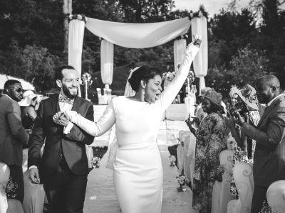 Georgia et Mauro : un sublime mariage mixte et international love, mixe race couple