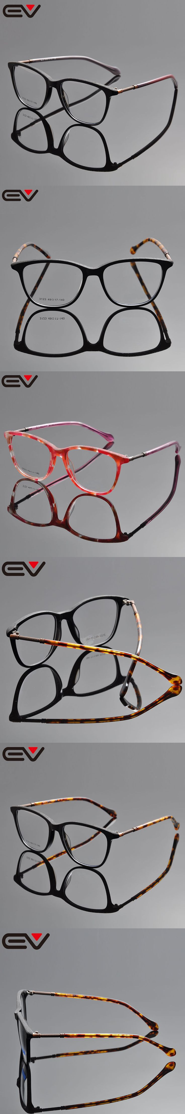 Fashionable eyeglass frame eyewear buffalo horn glasses oculos eye glasses frames for men monturas  gafas clear graduadas EV1035