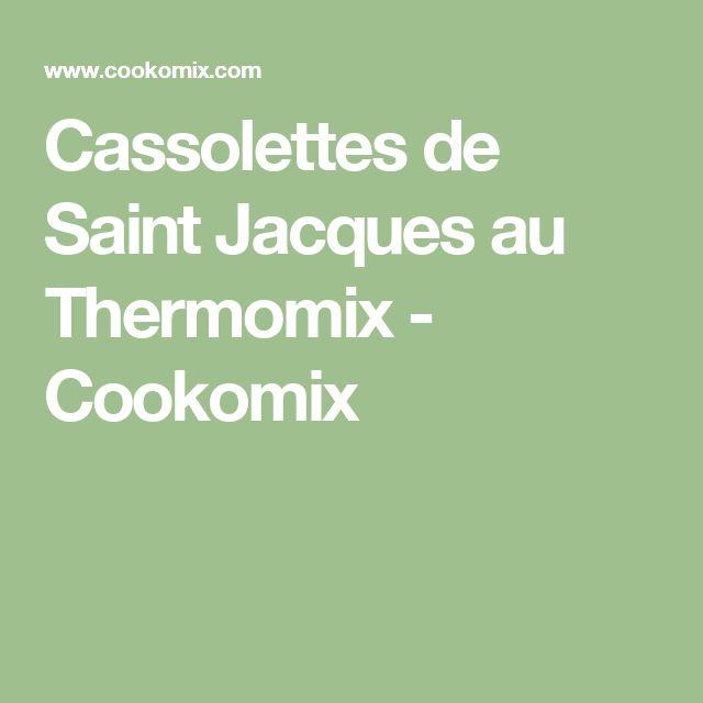 Cassolettes de Saint Jacques au Thermomix - Cookomix