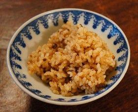 炊飯ジャーで発芽玄米酵素ごはん
