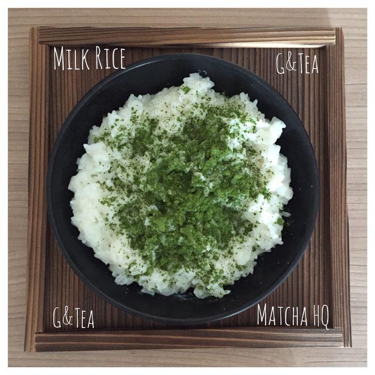 G&Tea Matcha HQ with Milk Rice
