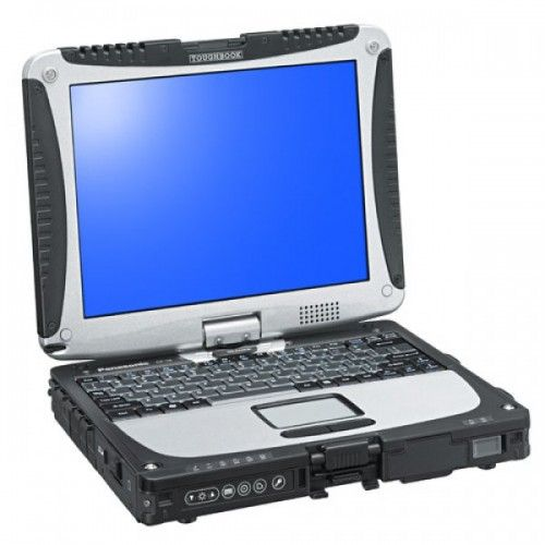 Laptop Panasonic Toughbook CF-19 , Intel Core 2 Duo U7500 1,06 GHz, 3 GB DDR2, 1 TB HDD SATA NOU, WI-FI, 3G, Bluetooth, Display Touchscreen 10inch 1024 by 768