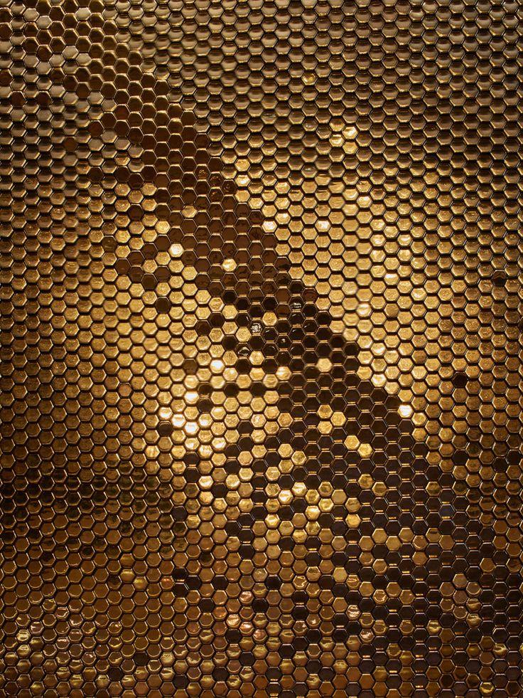Le Lido Champs Lyses Paris Giles Miller Studio In 2019 Honeycomb Tile Tile Design