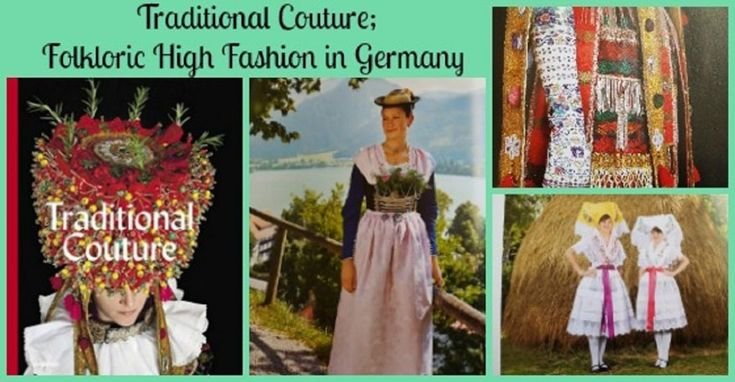 Traditional Couture; Folkloric High Fashion in Germany is more than just pictures of German Clothes. Gregor Hohenberg treats Tracht like the Art Form it is in this amazing Coffee Table Book.