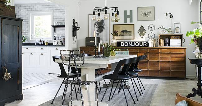 Una vivienda escandinava que combina estilos: encontramos un comedor industrial, un salón nórdico y  cocina escandinava clásica. ¡Increíble! 💡 #ideasfacilisimo