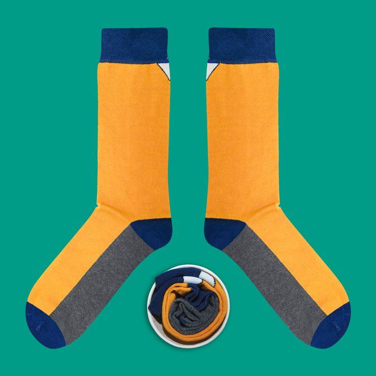 Model: Oranż na melanżu z granatem w rewanżu Seria: Super special awesome [|] #skarpetki #skarpetka #socks #sock #cupofsox #womensocks #mensocks #koloroweskarpetki [|]