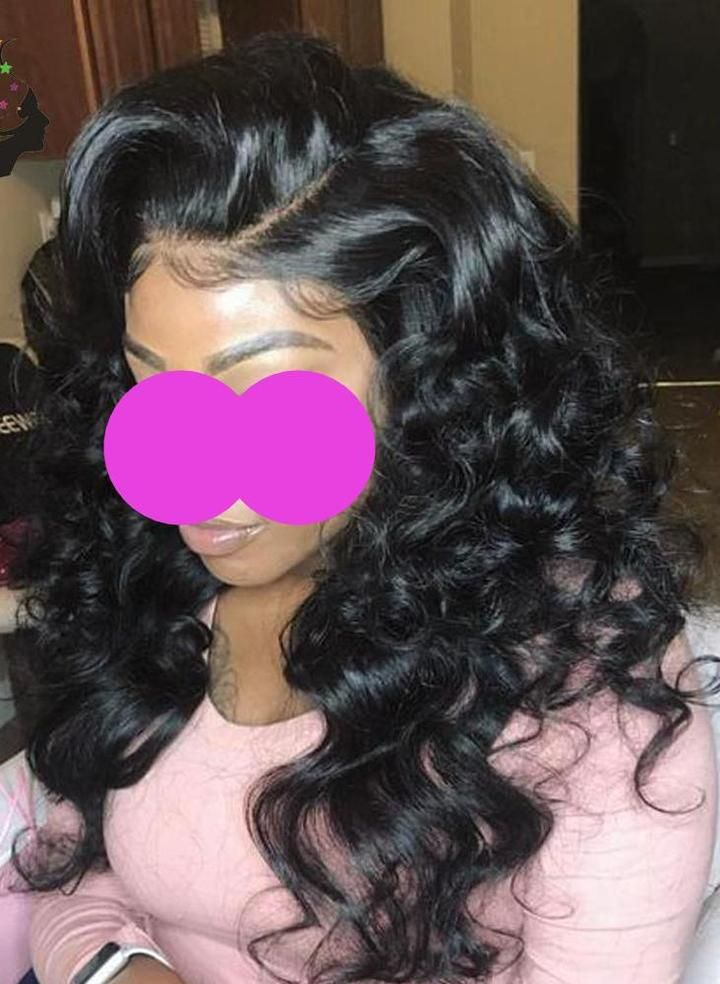 Lace Wigs Alice Pre Plucked Curly Lace Front Wig With Baby Hair Glueless Remy Hair Lace Front Human Hair Wigs For Women Peruvian Wigs 13x4 Clear And Distinctive Human Hair Lace Wigs