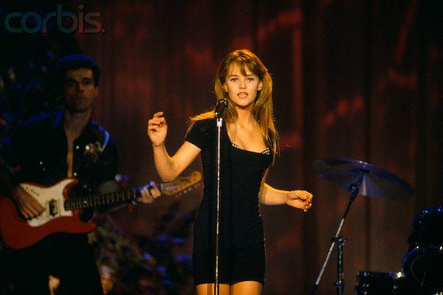 1988 Vanessa Paradis Young   ☞ Vanessa Paradis 80's & 90's ... Vanessa Paradis