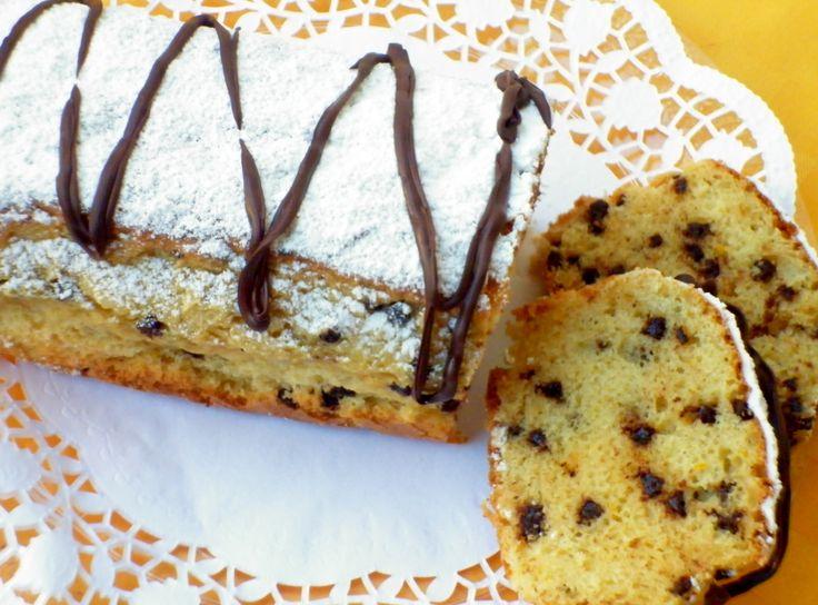 Plumcake arancia e cioccolato (senza burro e uova) ricetta vegan