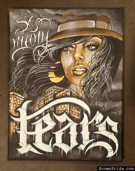 40 best CHICANO GIRL CLOWNS images on Pinterest | Lowrider art, Chicano tattoos and Female tattoos