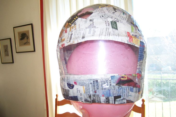 How to make an astronaut helmet
