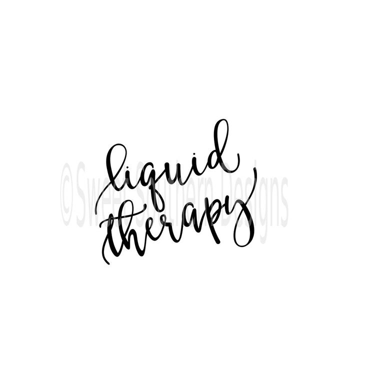 Liquid therapy wine glass DXF SVG PDF instant download