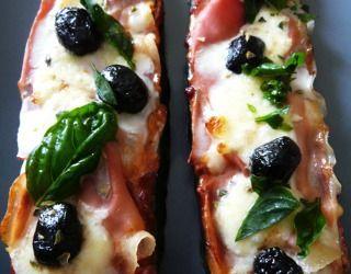 """Recette """"pizza"""" courgette"""