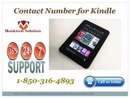 http://slideonline.com/presentation/274065-why-do-we-need-to-employ-the-amazon-kindle-fire-contact-number-1-850-316-4893 Why do we need to employ the Amazon Kindle fire contact number 1-850-316-4893? There are various reasons to employ the Amazon Kindle fire contact number, some of them are mentioned below: •	It is the one-stop Amazon solution platform. •	Round the clock assistance. •	Amazon experts can come live to help you out. •	Unlimited Amazon services can be availed at anytime. Hence…