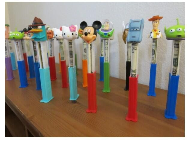 @HiddenCash stuffed 25 Pez dispensers with money and stashed them in Pacific Beach | SanDiegoUnionTribune.com