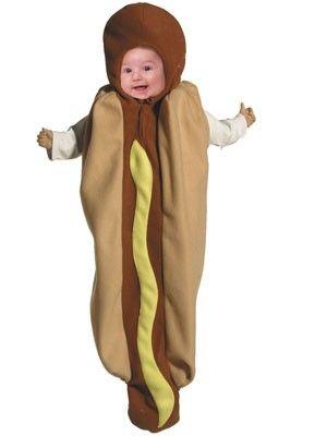 Hot Dog Baby Costume Carnaval