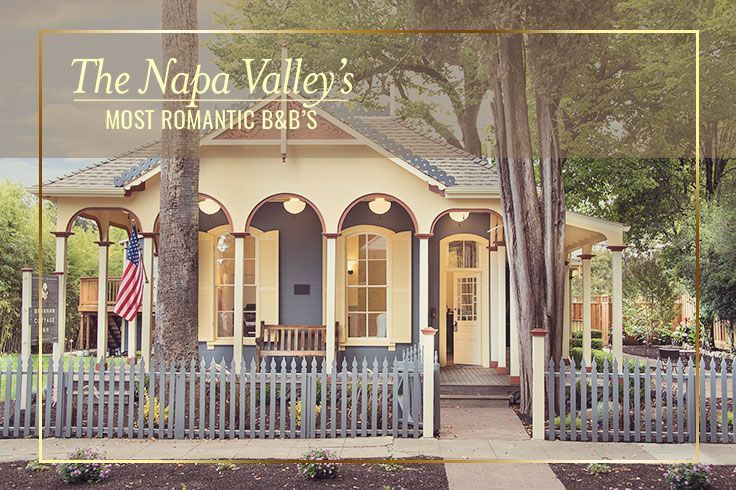 Romance is at its peak year around at these charming bed and breakfast set in the heart of the Napa Valley. #TravelDestinationsUsaNapaValley