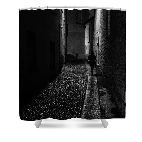 Dark Souls Shower Curtain by Cesare Bargiggia