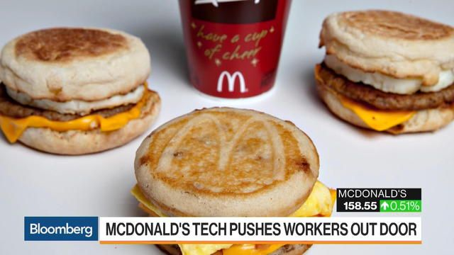 McDonald's HighTech Makeover Is Stressing Workers Out