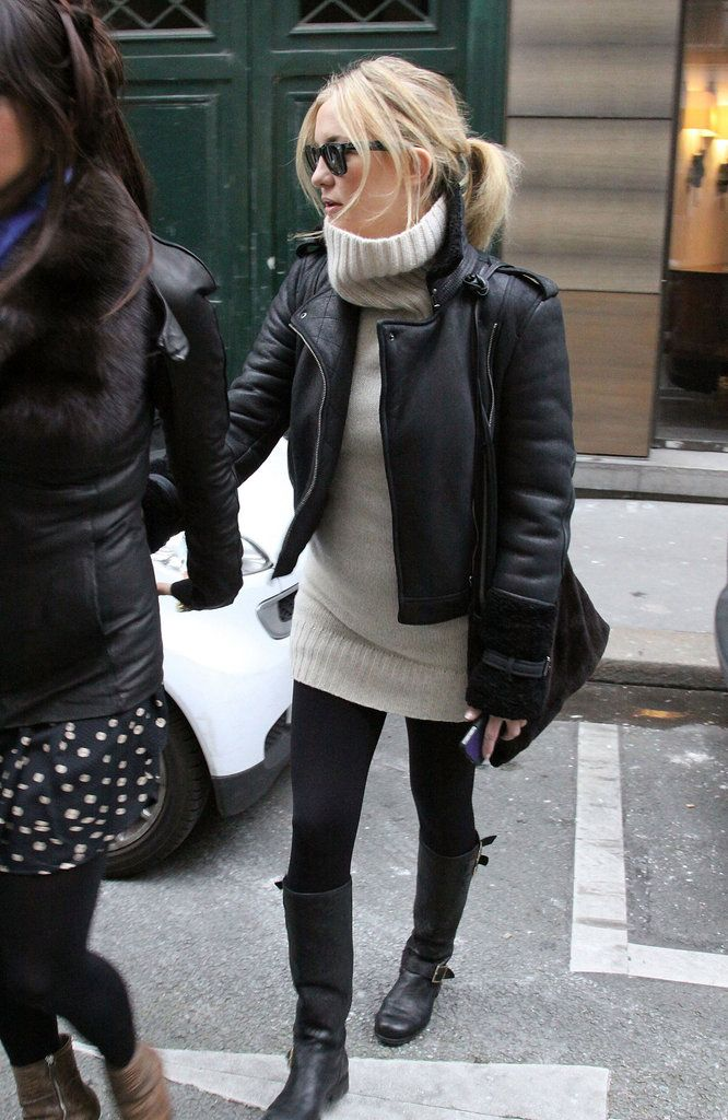 Kate Hudson: Take a page out of Kate Hudson's styling manual for this kind of sophisticated spin on tough-girl accents.