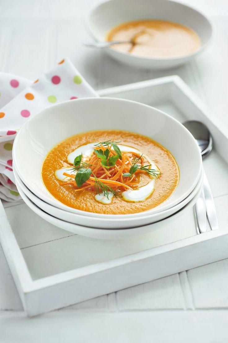 Wortelsoep http://www.njam.tv/recepten/wortelsoep