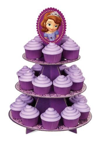 Disney Junior Sofia the First Cupcake Stand More