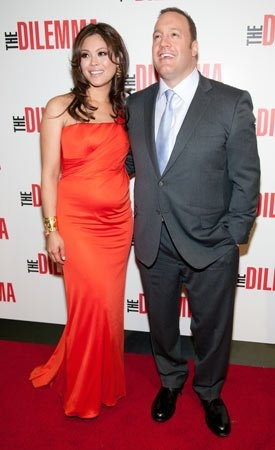 Steffiana de la Cruz and actor Kevin James are expecting their third child