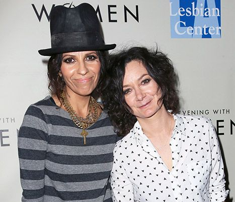 Sara Gilbert Is Pregnant, Expecting First Child With Wife Linda Perry - Us Weekly