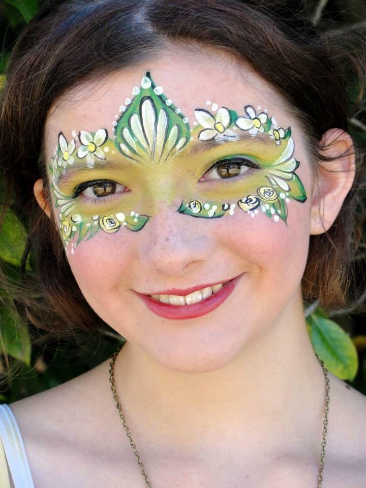Fairy Face Paint | face painting ideas | Pinterest