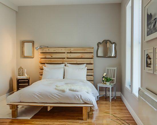 Beautiful DIY Pallet Bed Design