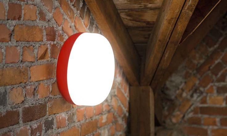 Korona Light Pendant, red