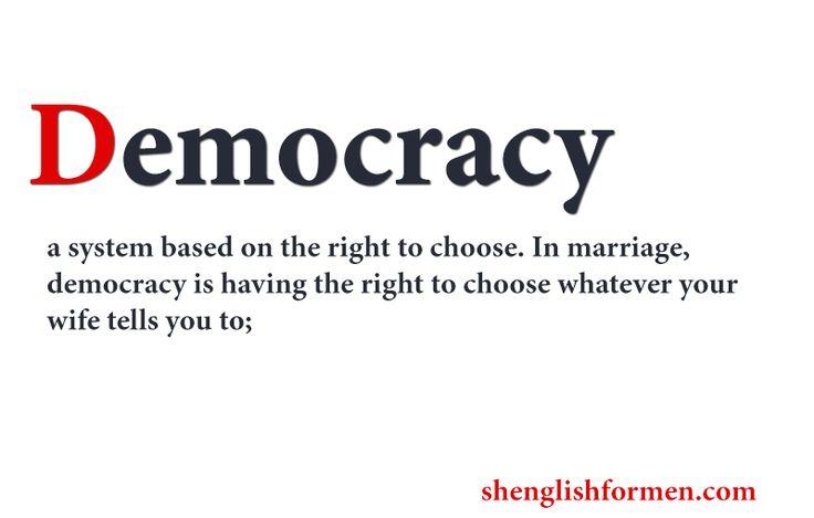 The true spirit of democracy