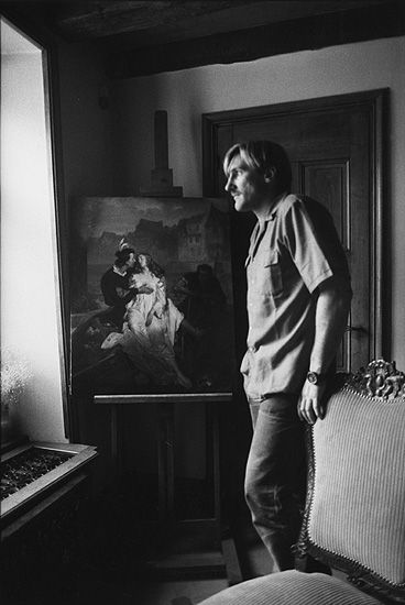 By Marc Riboud, Gérard Depardieu,1 9 8 3.