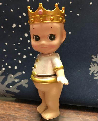 售罄 sonny angel 絕版限量版09聖誕隱藏皇冠金冠錯版瑕疵版娃娃-淘宝网全球站