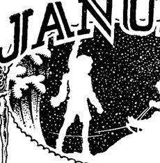 Vintage January Calendar Image!