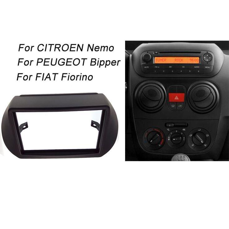 CT-CARID Radio Fascia For CITROEN Nemo/PEUGEOT Bipper/ FIAT Fiorino Stereo Facia Dash CD Panel Trim Installation