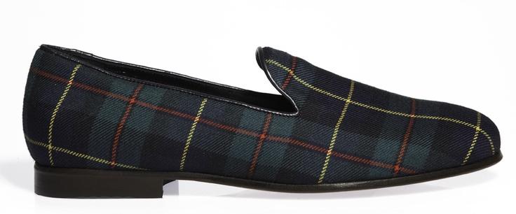 Cb Tartan slippers
