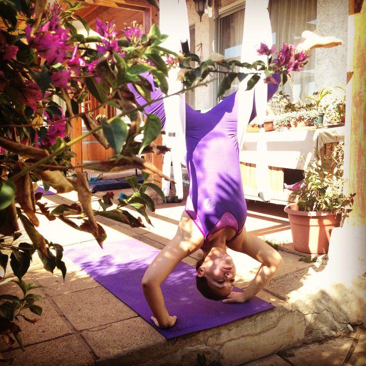 AERO FITNESS :: Yoga & Pilates Aereo en Ñuñoa. Naia Studio :: Centro de Bienestar Integral / Colo Colo 1019 Ñuñoa (Esquina Salvador)