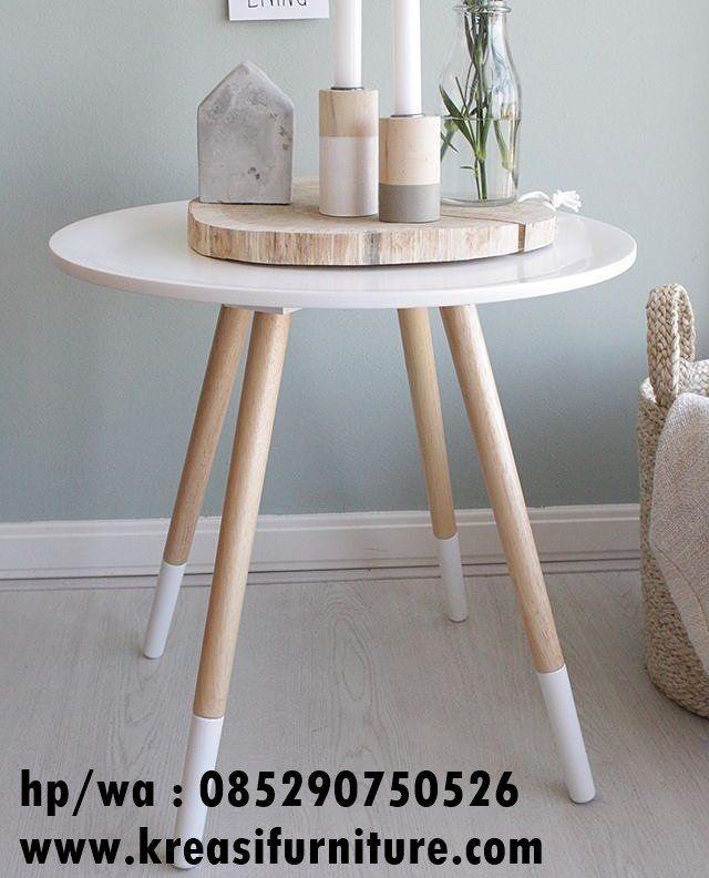 Meja Cafe Scandinavian 4 Kaki Kreasi Furniture Jepara Perabot Interior Desain