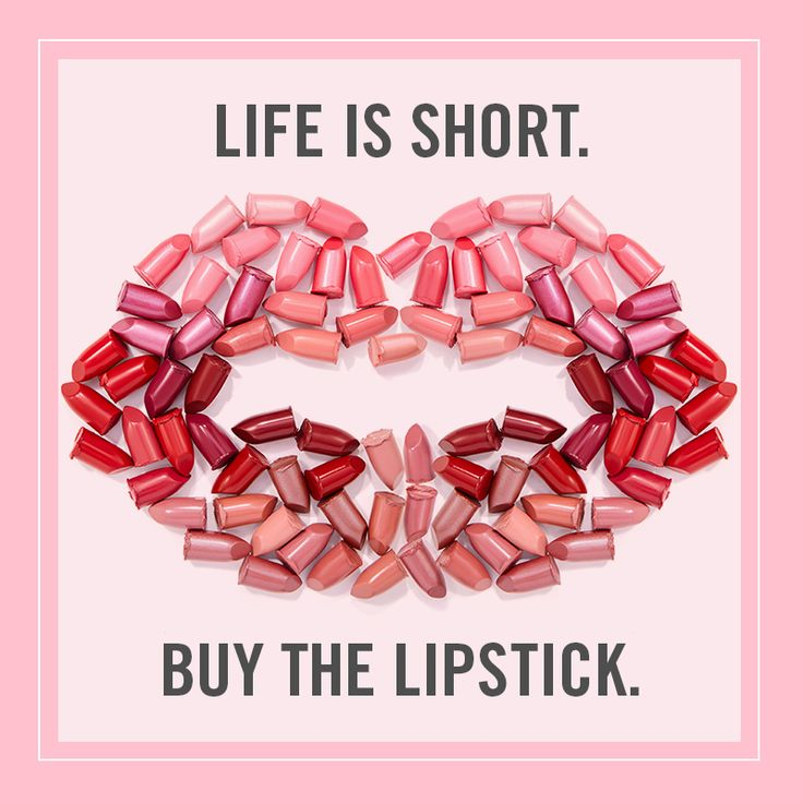 Don't let time and lip colour pass you by. #quote