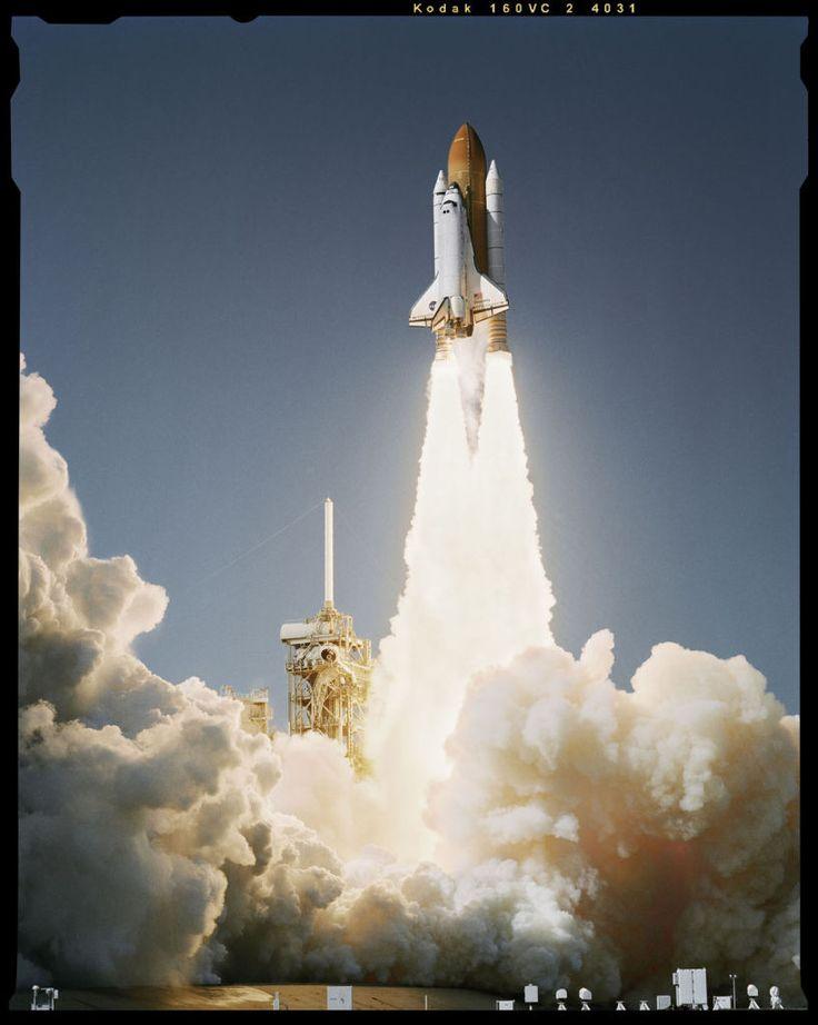 Shuttle Launch, Kennedy Space Center, Cocoa Beach, Florida, October 27, 1998  Dan Winters   1998